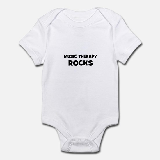 Music Therapy Rocks Infant Bodysuit