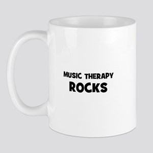 Music Therapy Rocks Mug