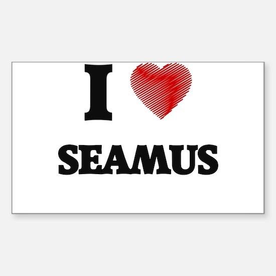 I love Seamus Decal