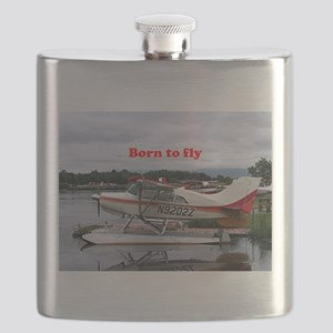 Born to fly: Float plane 12, Lake Hood, Anch Flask