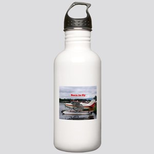 Born to fly: Float pla Stainless Water Bottle 1.0L