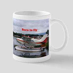 Born to fly: Float plane 12, Lake Hood, Ancho Mugs