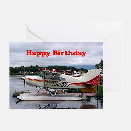 Cute Aviation birthday Greeting Card