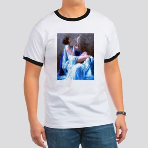Burlesque Girl with Pearls T-Shirt