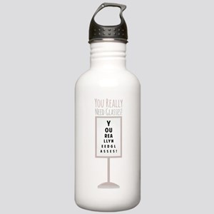 Need Glasses Water Bottle