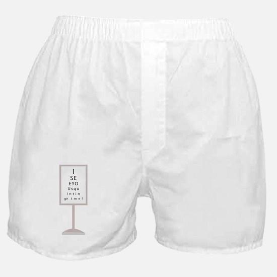 I See You Boxer Shorts