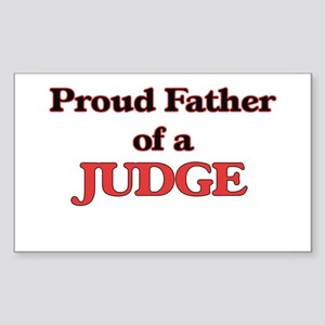 Proud Father of a Judge Sticker