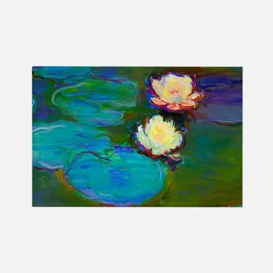 Cute Monet art Rectangle Magnet