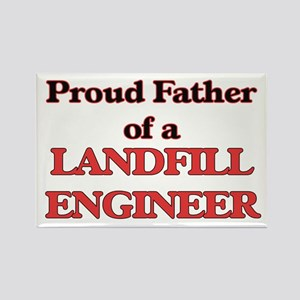 Proud Father of a Landfill Engineer Magnets
