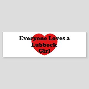 Lubbock girl Bumper Sticker