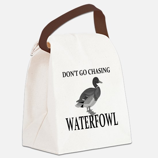 Unique Duck hunting Canvas Lunch Bag