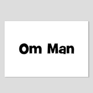 Om Man Postcards (Package of 8)