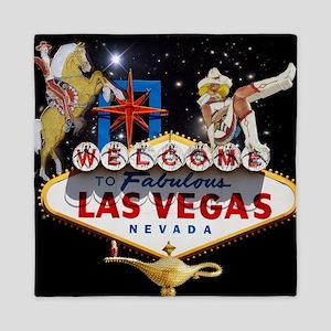 Las Vegas Icons - Las Vegas Welcome Si Queen Duvet