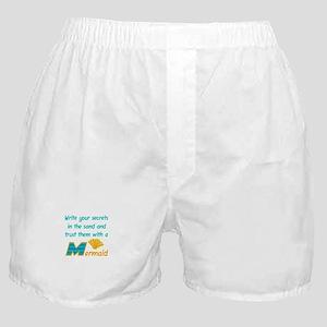 Trust Secrets To Mermaid Boxer Shorts