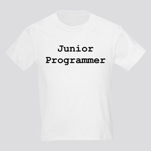 Junior Programmer Kids Light T-Shirt