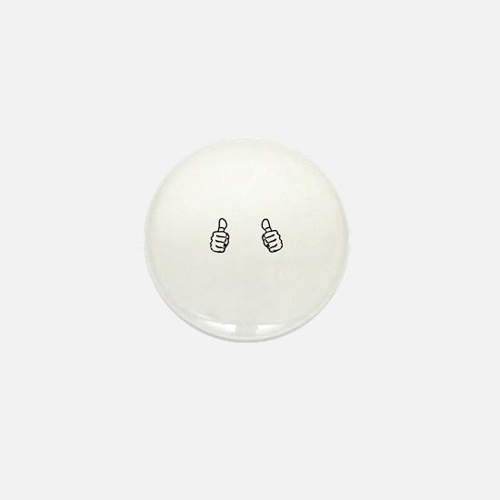 Cute Cake decorator Mini Button