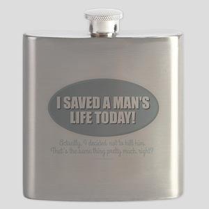 Saved a Life Flask