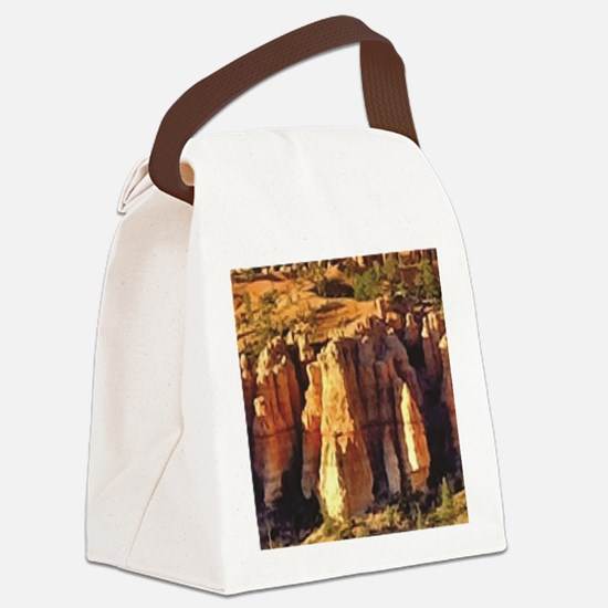 Funny Rock ware Canvas Lunch Bag