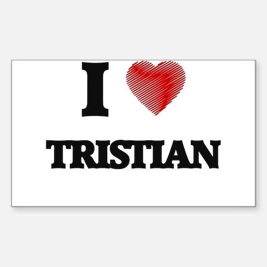 I love Tristian Decal