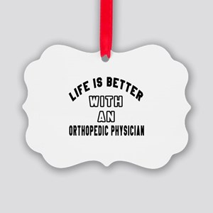 Orthopedic Physician Designs Picture Ornament