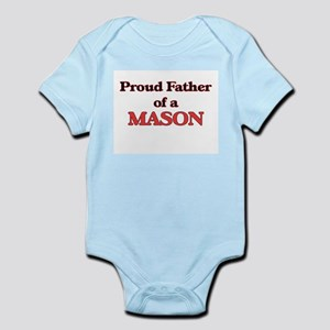 Proud Father of a Mason Body Suit
