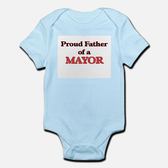 Proud Father of a Mayor Body Suit