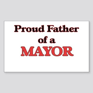 Proud Father of a Mayor Sticker