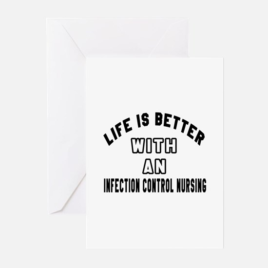 Infection Control Nursin Greeting Cards (Pk of 10)