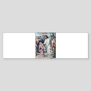 Obamacare: Sick Socialist Jesus Bumper Sticker