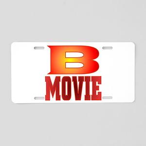 B Movies Aluminum License Plate