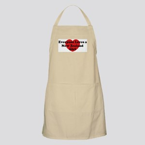 New Zealand girl BBQ Apron