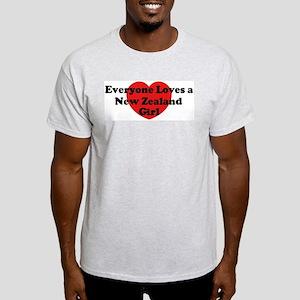 New Zealand girl Light T-Shirt