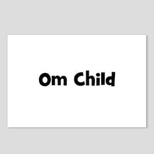 Om Child Postcards (Package of 8)