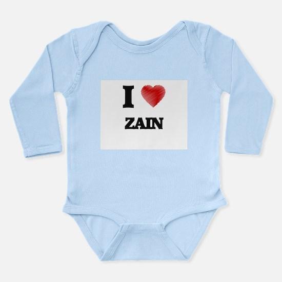 I love Zain Body Suit