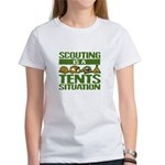 SCOUTING - TENTS Women's T-Shirt