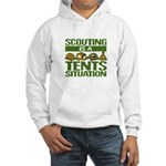 SCOUTING - TENTS Hooded Sweatshirt