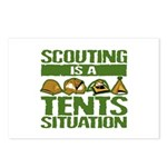 SCOUTING - TENTS Postcards (Package of 8)
