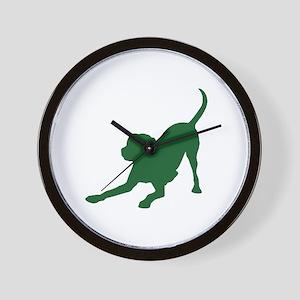 Lab 1C Green Wall Clock
