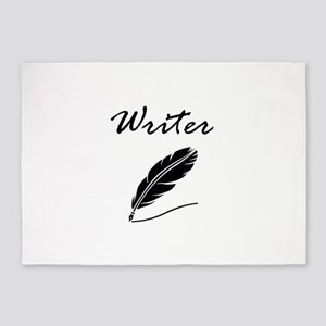 Writer Quill 5'x7'Area Rug