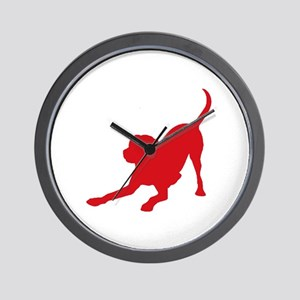 Lab 1C Red Wall Clock