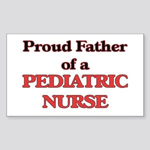 Proud Father of a Pediatric Nurse Sticker