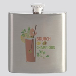 Brunch Of Champions Flask