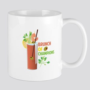 Brunch Of Champions Mugs