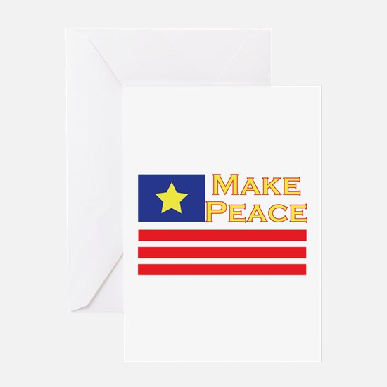 Make Peace Greeting Cards