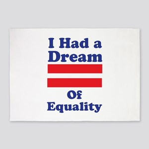 Dream Of Equality 5'x7'Area Rug