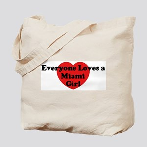 Miami girl Tote Bag