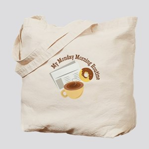 Mionday Morning Tote Bag