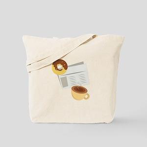 Coffe & Donut Tote Bag