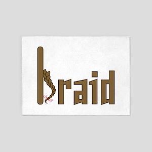 Braid 5'x7'Area Rug