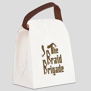 Braid Brigade Canvas Lunch Bag